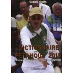 dictionnaire de la petanque edition 2004