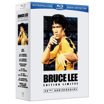 B-BRUCE LEE- INTEGR-40E ANNIV-6 DISC+DVD-BIG BOSS-FUREUR DE