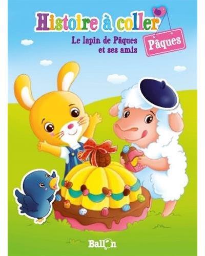 Histoire à coller - Joyeuses Pâques