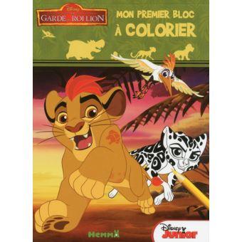 La Garde Du Roi Lion Disney La Garde Du Roi Lion Mon Premier Bloc à Colorier