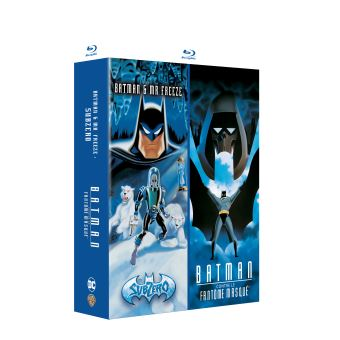 BatmanCoffret Batman contre le fantôme masqué Batman et Mr. Freeze Subzero Blu-ray