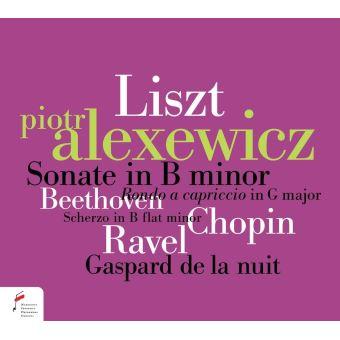 Sonate in B minor, Rondo a capriccio in G major, Scherzo in B flat minor, Gaspard de la nuit