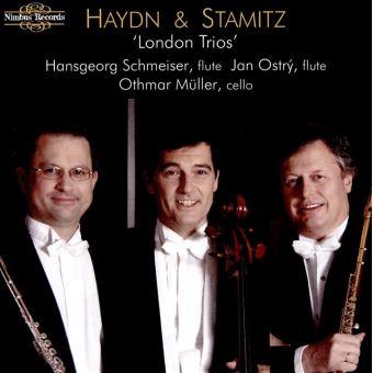Trios londonies pour 2 flutes et violoncelle