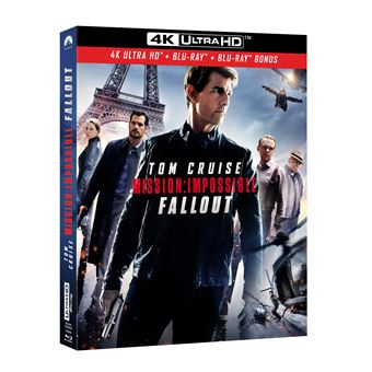 Mission : Impossible  Les FilmsMission : Impossible Fallout Blu-ray 4K Ultra HD