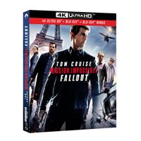 Mission : Impossible Fallout Blu-ray 4K Ultra HD