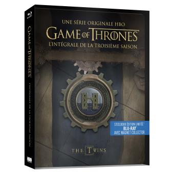 Le trône de ferGame Of Thrones Saison 3 Steelbook Blu-ray