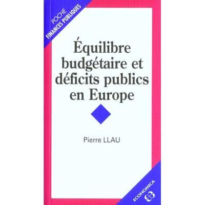 Equilibre budgétaire et déficits publics en Europe