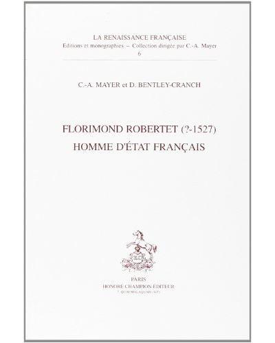 Florimond robertet homme d'etat francais