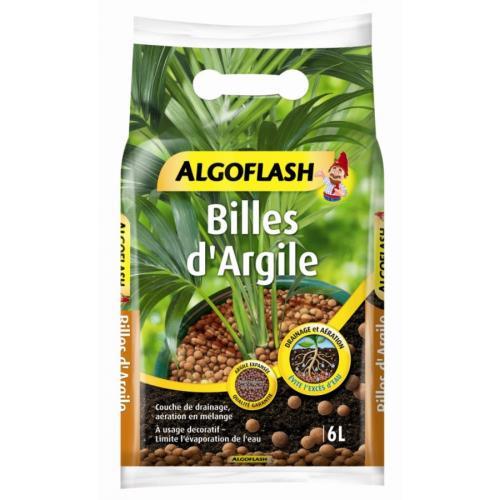 Billes d'argile Algoflash 6L