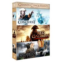 Coffret Grands conquérants 3 films DVD