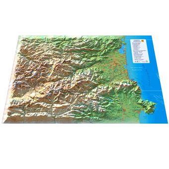 Carte En Relief Des Pyrenees Orientales Collectif Achat Livre Fnac