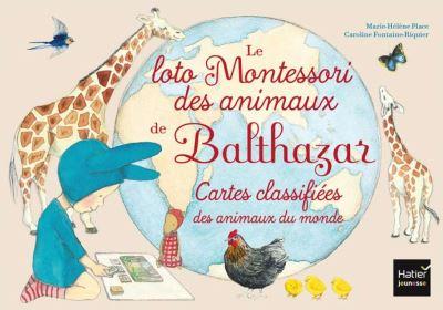 Le loto Montessori des animaux de Balthazar