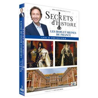 Secret d'histoireSecrets d'histoire : Rois et Reines de France DVD