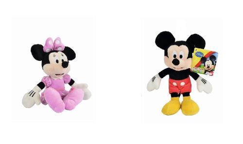 Peluche Mickey Minnie Disney 25 cm