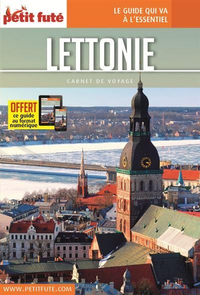 Lettonie 2017 carnet petit fute + offre num