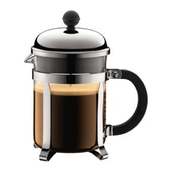Bodum Chambord Coffee Maker With Piston 4T - Inox