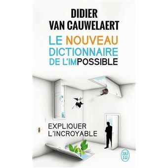 """Résultat de recherche d'images pour """"le NOUVEAU dictionnaire de l'impossible"""""""