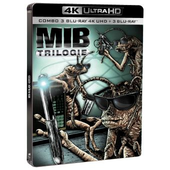 Men in Black La trilogie Edition Limitée Steelbook Blu-ray 4K Ultra HD