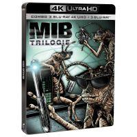 Men in black trilogie/steelbook limite/inclus 3 blurays/uv