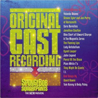 Spongebob Squarepants The New Musical Vinyle 180 gr Gatefold Inclus un livret