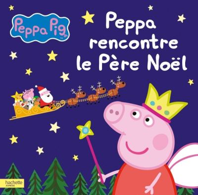 Peppa rencontre le père Noël