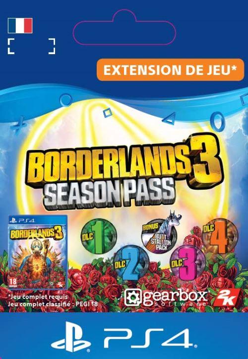 Code de téléchargement Borderlands 3 Season Pass PS4