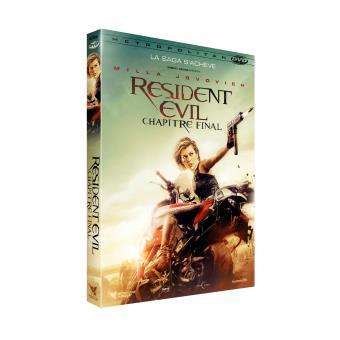Resident EvilResident Evil 6 : The Final Chapter DVD