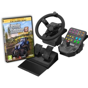 farming simulator 15 edition gold volant pc jeux vid o achat prix fnac. Black Bedroom Furniture Sets. Home Design Ideas