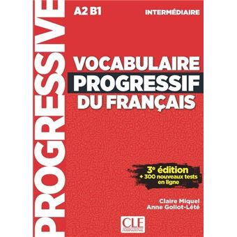 Vocabulaire Progressif Fle Intermediaire 3eme Edition Cd