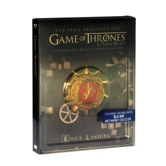 Le trône de ferGame Of Thrones Saison 2 Steelbook Blu-ray