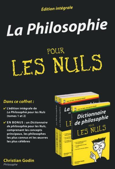 Pour les Nuls - Coffret avec 1 dictionnaire : Coffret la Philosophie Pour les Nuls - Edition intégrale