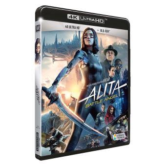 Alita Battle AngelAlita Battle Angel Blu-ray 4K Ultra HD