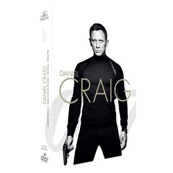 James BondCoffret James Bond Daniel Craig 4 films DVD