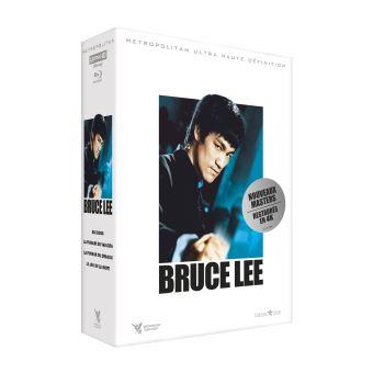 Coffret Bruce Lee 4 Films Edition Limitée Combo Blu-ray 4K Ultra HD