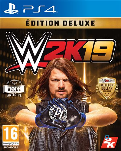WWE 2K19 Édition Deluxe PS4
