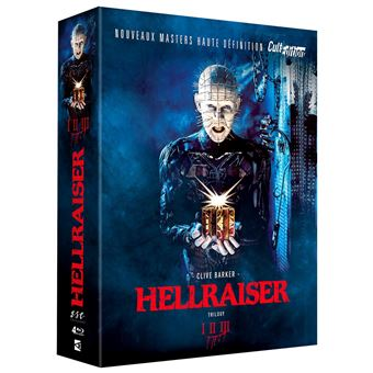 HellraiserHELLRAISER TRILOGY-FR-BLURAY