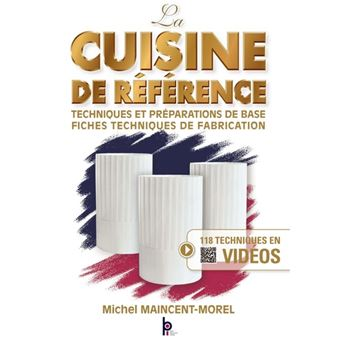 La cuisine de r f rence broch michel maincent livre for Cuisine reference