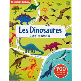 Les Dinosaures - Cahier d'activités