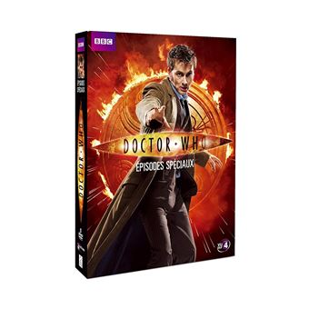 Doctor WhoCoffret Doctor Who Episodes spéciaux DVD