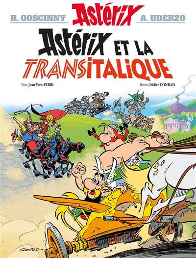Resultado de imagem para asterix et la transitalique