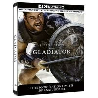 Gladiator Steelbook Edition Limitée Collector 20ème anniversaire Blu-ray 4K Ultra HD