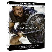 Gladiator Steelbook Edition Limitée Collector 20ème Anniversaire Blu-ray 4K Ultra HD