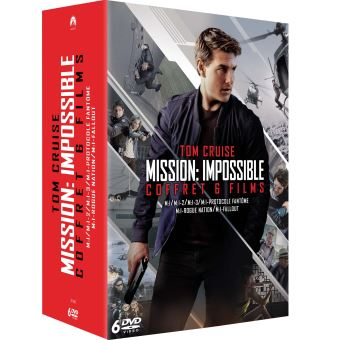 Mission : ImpossibleCoffret Mission : Impossible L'intégrale des 6 films DVD