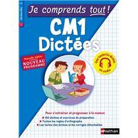 Dictées CM1 - Je Comprends tout !