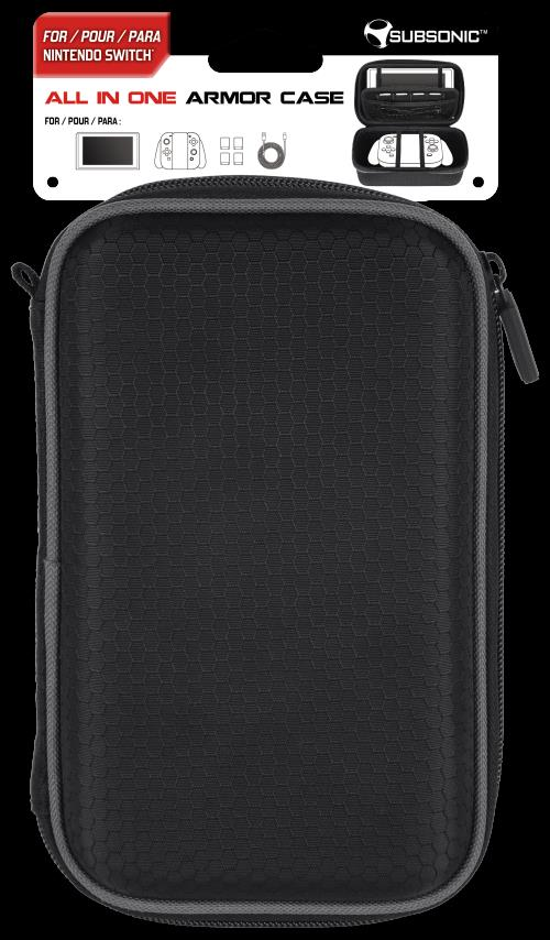 Sacoche All in one Armor case Subsonic pour Nintendo Switch