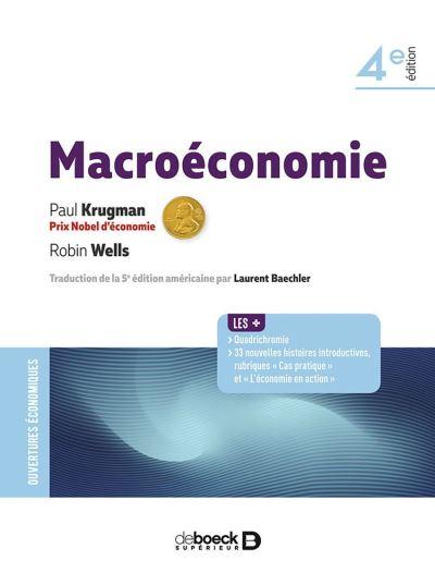 Macroéconomie - 9782807324473 - 49,99 €