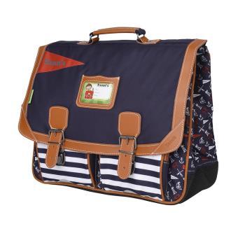 Cartable Tann s dos 41 cm Bleu marine - Cartable, sac à dos primaire ... f8b76187cb2