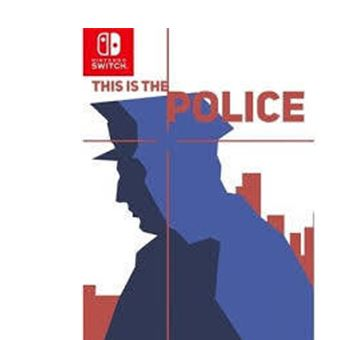 This is the Police Nintendo Switch