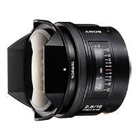 Objectif reflex Sony A 16 mm f/2.8 Fisheye