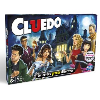 cluedo nouvelle version hasbro autre jeu de soci t. Black Bedroom Furniture Sets. Home Design Ideas